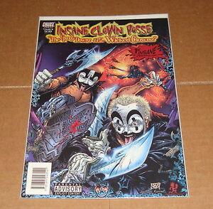 insane clown posse upz downz of the wicked clownz 1 1st print