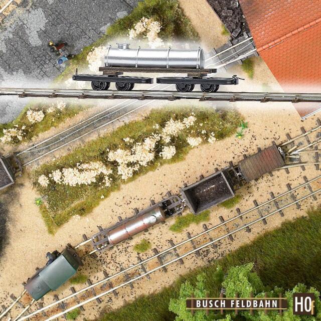 Busch 12220 Bogie Tank Car Field Mine Railway H0f
