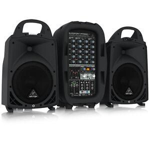 BEHRINGER-EUROPORT-PPA2000BT-8-Channel-Personal-PA-Bluetooth-Warranty