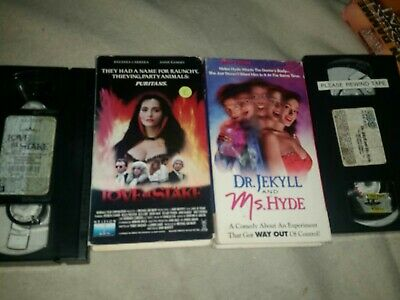 Love At Stake VHS Dr. Jekyll and Ms. Hyde Horror Comedy ...