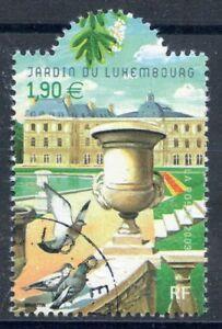Raisonnable Stamp / Timbre France Oblitere N° 3607 Flore / Jardin Du Luxembourg