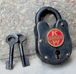 Kenworth-KW-antique-lock-1931-style