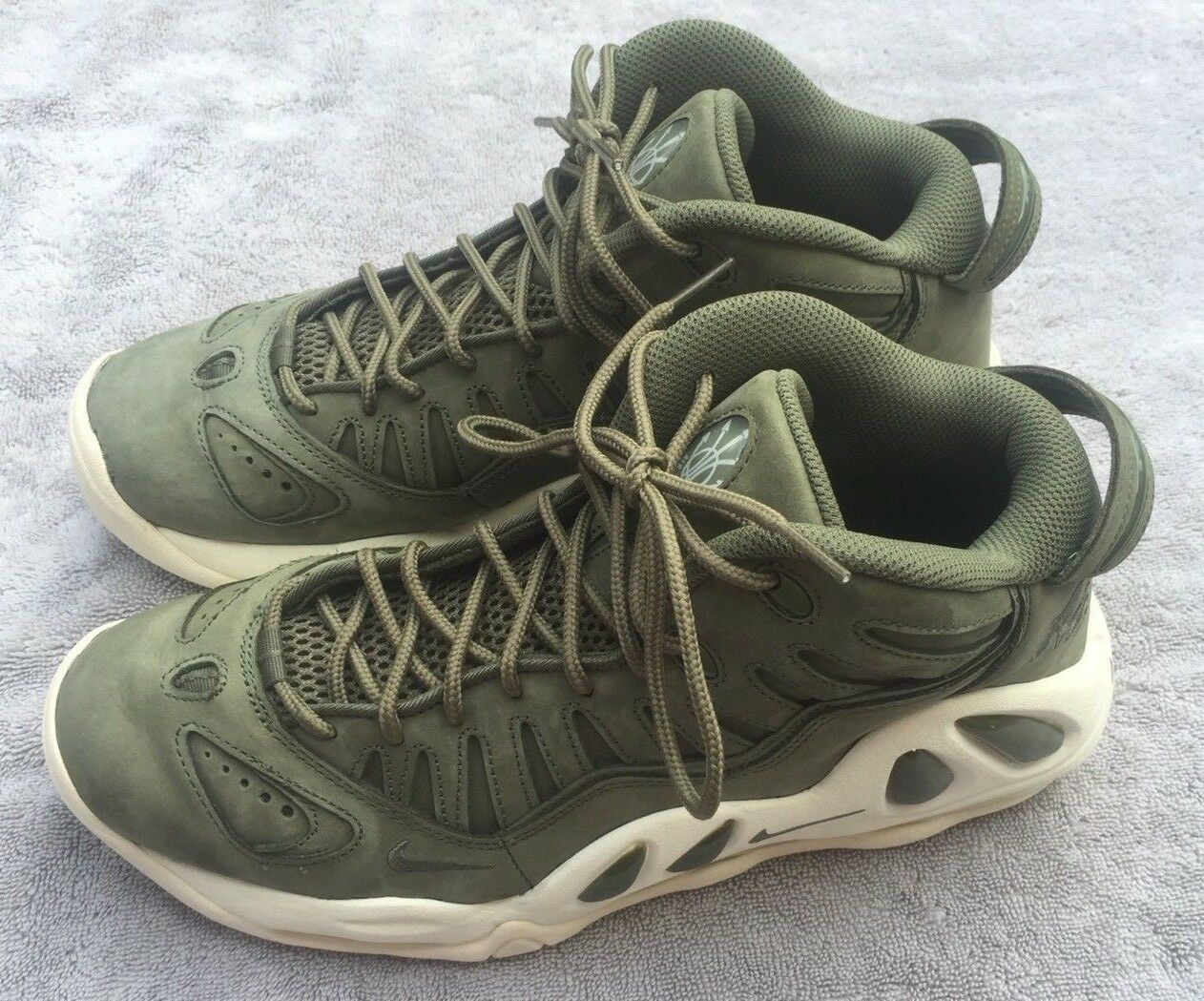 Nike Air Max Uptempo 97 Urban Haze/White Mens Size 10 (399207300) Scottie Pippen