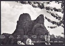 GENOVA ISOLA DEL CANTONE 06 CASTELLO DELLA PIETRA Cartolina FOTOGRAF. viagg 1964
