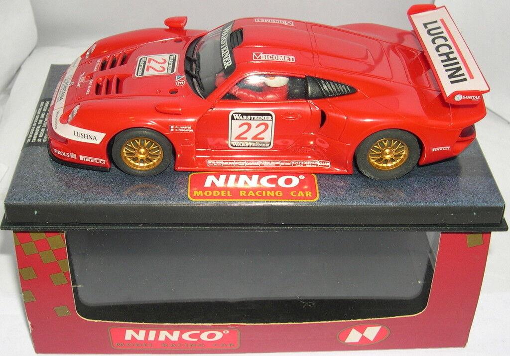 NINCO 50154 PORSCHE 911 GT1  22 BMS MB