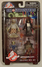 GHOSTBUSTERS MINIMATES GHOSTS 4-PACK AMAZON.COM EXCLUSIVE BOX SET MISP 2009