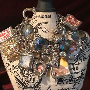 Recycled-Broken-Porcelain-Jewelry-Multi-Design-Chunky-Charm-Bracelet