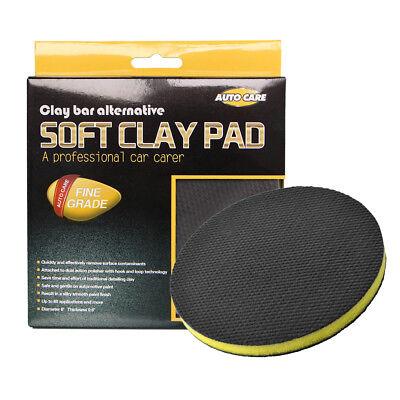 Car Wash Magic Clay Pad Mitt Sponge Polishing Buffing Pad Auto Care Wax 6 Inch