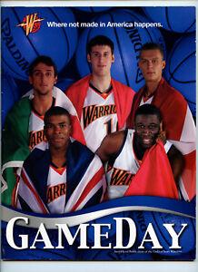 quality design 17c58 9e6a4 2007 2008 Golden State Warriors Team Program NBA Basketball ...