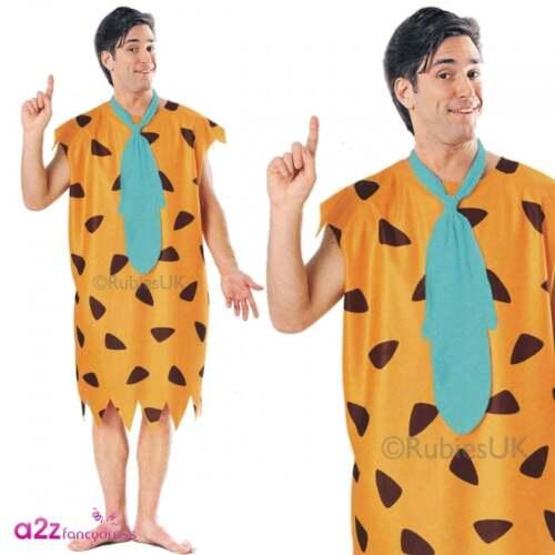 THE FLINTSTONES ADULT MENS WOMENS LADIES LICENSED TV CARTOON FANCY DRESS COSTUME