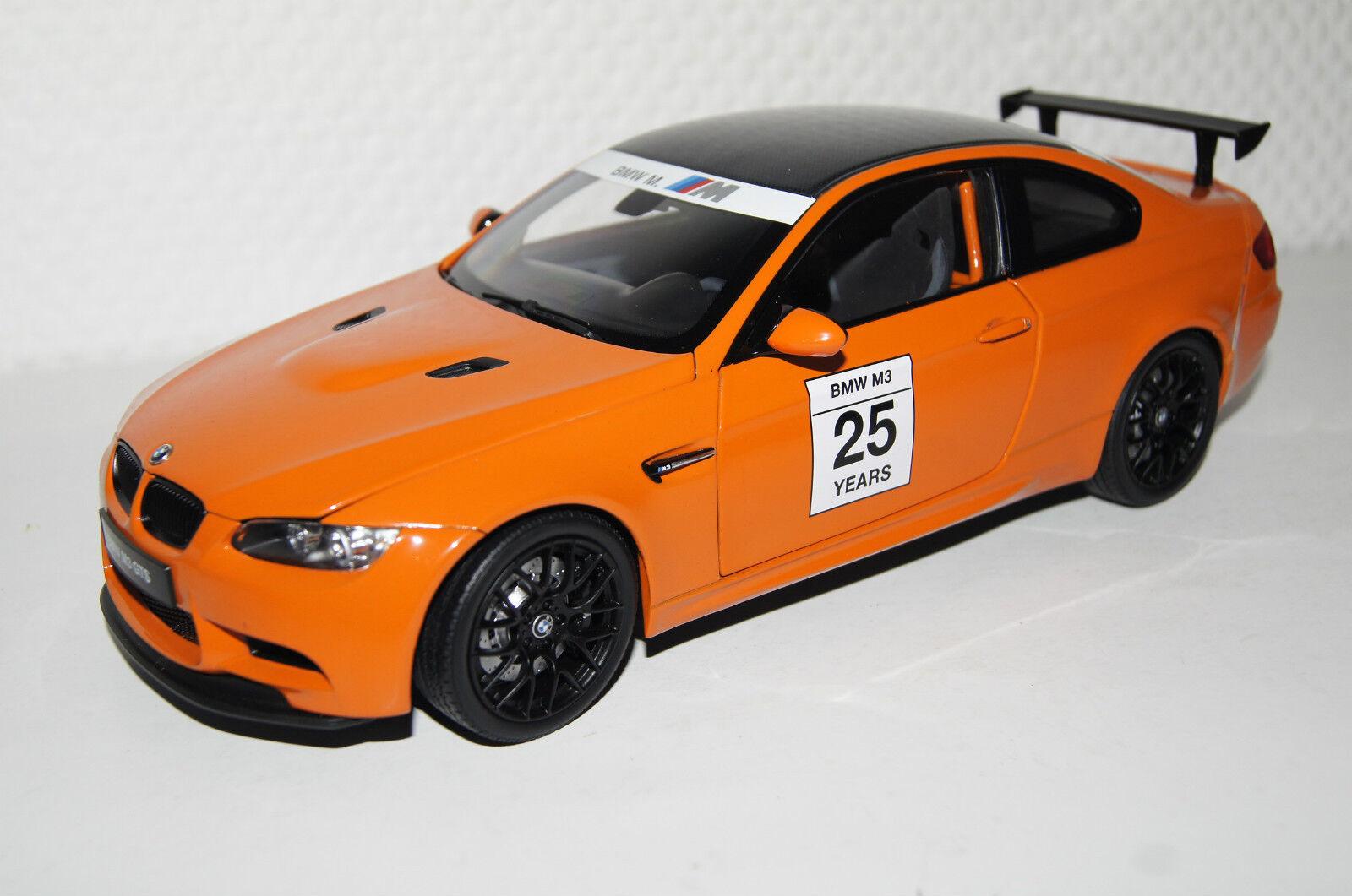 BMW M3 GTS orange  18 Kyosho neu & OVP 8739PM