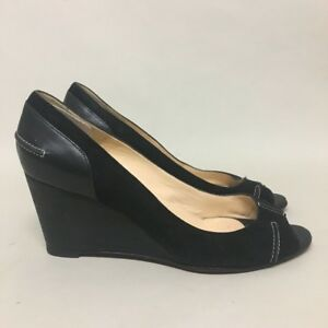 1b218b6cfd8 Image is loading pre-loved-authentic-CHRISTIAN-LOUBOUTIN-black-suede-amp-