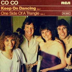 7-034-CO-CO-COCO-ex-MOTHER-039-S-PRIDE-Keep-On-Dancing-CHERYL-BAKER-BUCKS-FIZZ-RCA-1980