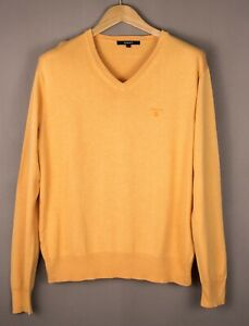 GANT-Men-Casual-Knit-Sweater-Jumper-Size-M-ATZ685