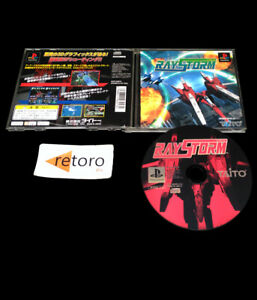 RAYSTORM-Sony-playstation-PSX-Play-Station-PS1-JAPONES-Taito-Ray-Storm