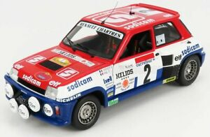 SOLIDO RENAULT   R5 TURBO (night version) N 7 RALLY ANTIBES 1983 A.THERIER - ...