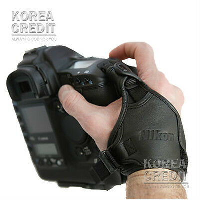 NEW Nikon Hand Grip Strap AH-4 Leather Hand Strap II For D800 D7000 D5100 D3200
