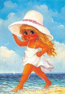 Carte Postale Poulbot,Gamin de Paris (Bord de mer N° 123) Michel Thomas