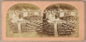 Il Capitol Dei US USA Foto Stereo PL55L1n Vintage Albumina