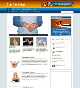 LEARN-SIGN-LANGUAGE-WEBSITE-BLOG-WITH-AFFILIATE-STORE-BANNERS-WITH-FREE-DOMAIN