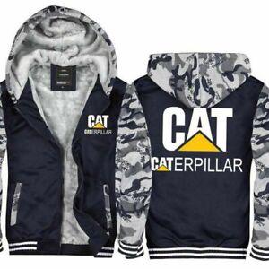 Winter-Warm-Caterpillar-Power-Hoodie-Thick-Jacket-Sweatshirt-Fleece-Hooded-Coat