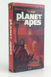 Used-Planet-Of-The-Apes-VHS-1967-30th-Anniversary-Addition-Charlton-Heston-J108
