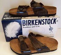 Women's Sandals Birkis Birkenstock 2 Adjustable Straps L 8 Us 39 Eu