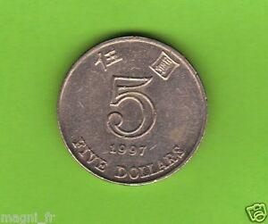 Hong Kong - 5 Dollar - 1997 ( Réf. 61 )