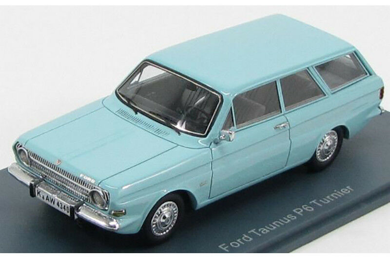 FORD P6 12M Turnier 1966 1 43 Neo scale models NEO44340