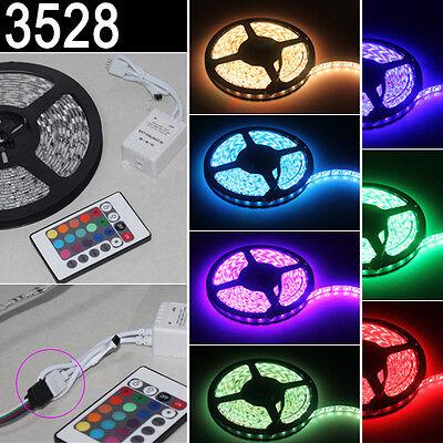 5M 12V 3528 SMD RGB 300 LED Streifen Wasserdicht Lichtschlauch Für Party XMAS