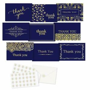 Thank-You-Cards-54-Pack-Thank-You-Notes-Blank-on-the-Inside-Bulk-Thank-You-Cards