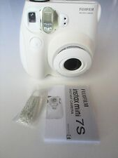 Fujifilm Instax Mini 7S Instant Camera white