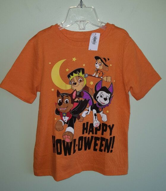 e95cbbe7 NEW Old Navy Toddler 4T Paw Patrol HALLOWEEN Tee T-Shirt ORANGE Fall  #3211217