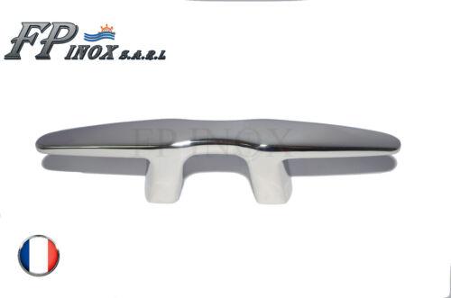 "Taquet /"" Silhouette design /"" inox 316 Longueur 150mm"