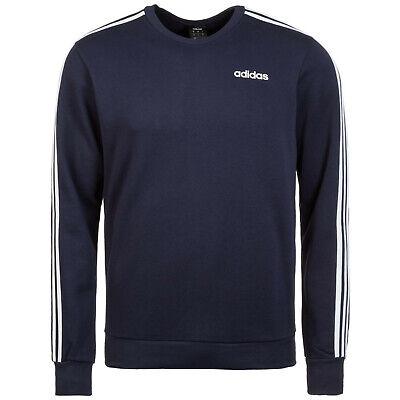 Adidas Herren Sweatshirt Sweater Pullover Sport blau dunkelblau NEU