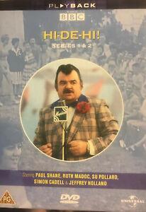 Hi-De-Hi-Series-1-amp-2-DVD-2003-3-Disc-Set