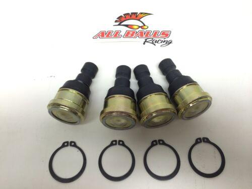 Polaris RZR4 800 2011-2013 Upper /& Lower Ball Joints All Balls 42-1037 4 Pack