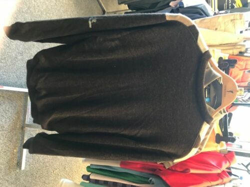 Genuine Mens Lined Glenbrae Negal Mocha Jumper XL