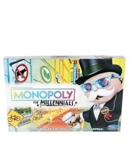 Monopoly-for-Millennials-Millenials-Board-Game-VHTF-Hot-Toy-Hasbro-NEW-Free-Ship