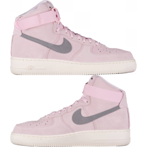NIKE AIR FORCE 1 HIGH 07 MEN S LIFESTYLE COMFY SHOES Pink Dust Sail ... 54f101c1efa7