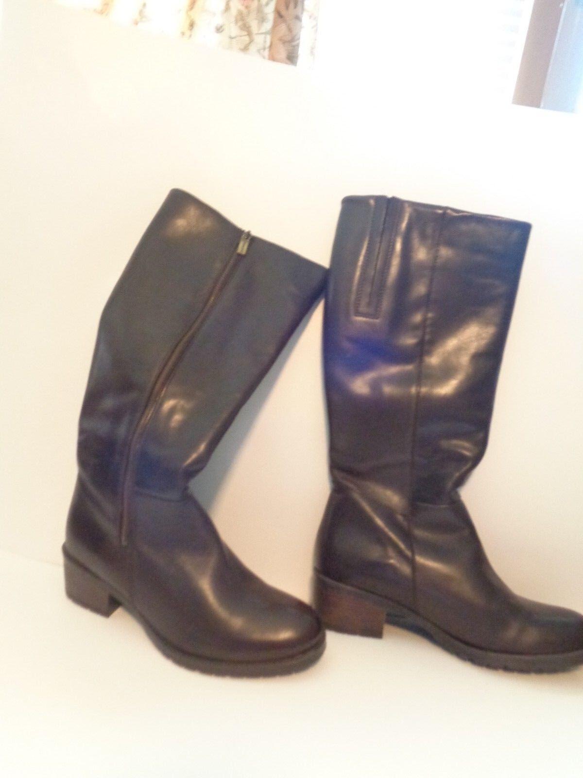 New Eric Michael Brown Lauren Knee High Women's Boots Size 7 1/2 US 38 Eur