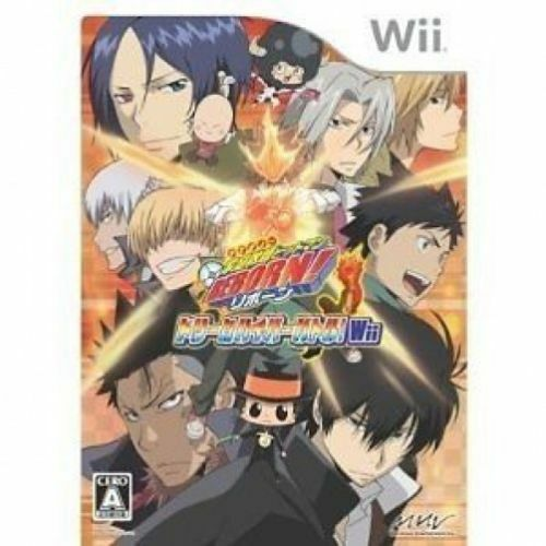 Used Wii Kateikyoushi Hitman Reborn ! Nintendo JAPAN  JAPANESE JAPONAIS IMPORT