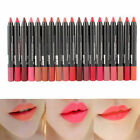 Sexy 19 Colors Makeup Beauty Waterproof Lip Pencil Lipstick Lip Gloss Lip Pen