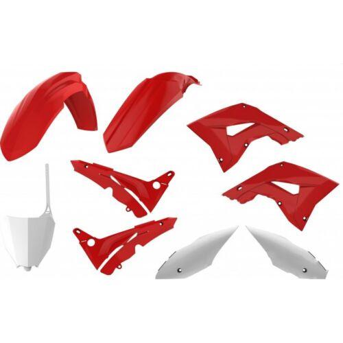 Verkleidung Schutzblech Abdeckung komplett Kit rot 04 weiß complete Honda CR C