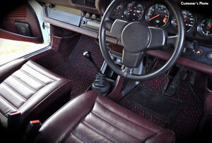 Porsche 911 Sc 1978 1983 Custom Car Floor Mats Cocomats 2 Piece Set Ebay