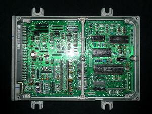honda civic p28 ecu stock esi 37820-p28-g02 d16z6 vti b16 ... engine ecu diagram #6