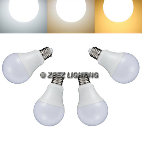 4X LED Light Bulbs 9W Soft Warm White A19 E26 Equivalent 75W Incandescent Lamp