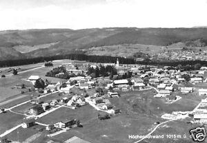 Höchenschwand Schwarzw. Um 1975 Luftbildansicht Treu Ak
