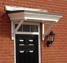 Wooden Timber Front Door Canopy. Porch & Timber Cottage Style Front Door Canopy Porch | eBay