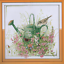 Counted Cross Stitch Kit Bird With Watering Can